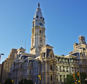Philadelphia City Hall, where Arena helps our clients achieve their goals