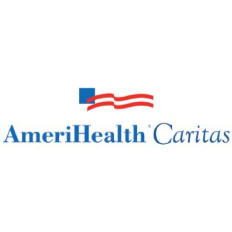 AmeriHealth Caritas logo, one of Arena's clients