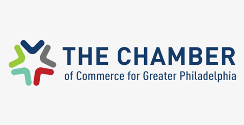 The Chamber of Commerce for Greater Philadelphia logo, one of Arena's clients