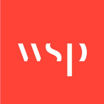 WSP logo, one of Arena's clients